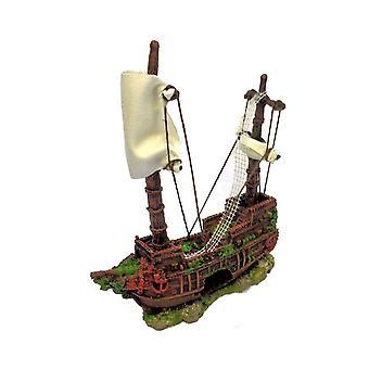 Betta entscheidet mittleres Piratenschiff