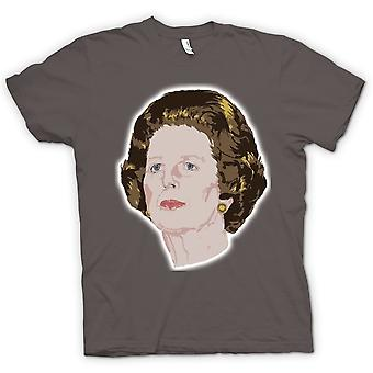 Heren T-shirt - Margaret Thatcher - PM - Cons
