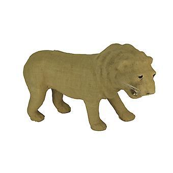 Rustieke jute gewikkeld papier mache Leeuw sculptuur