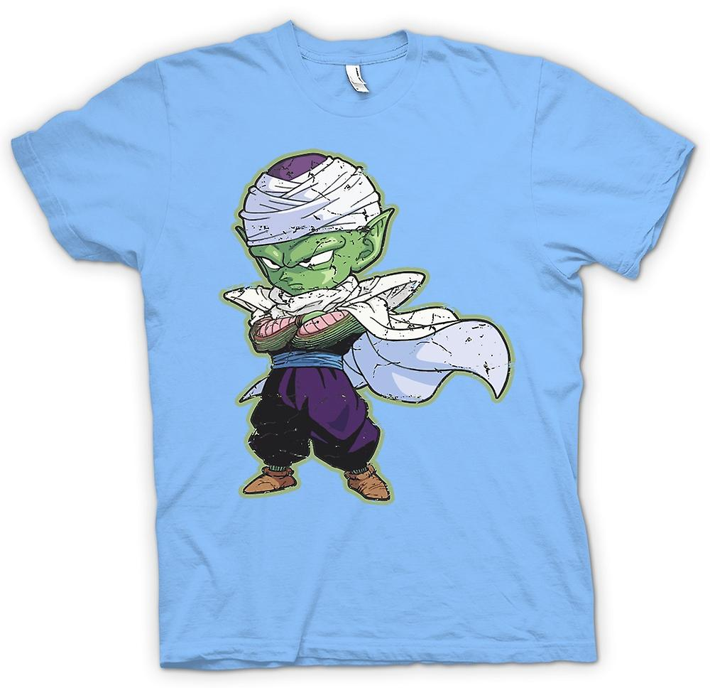 Mens T-shirt-Piccolo - Dragon Ball Z - rétro Cool