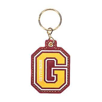 Harry Potter Nøglerings nøglering G for Gryffindor varsity logo ny officiel