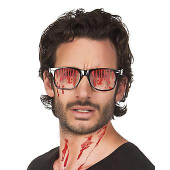 Blood Stained Glasses Halloween Fancy Dress Accessory