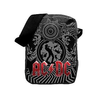 Phd - ac/dc black ice - cross body bag