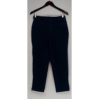 Isaac Mizrahi Live! Petite Jeans Petite 24/7 Denim Ankle Length Blue A283795