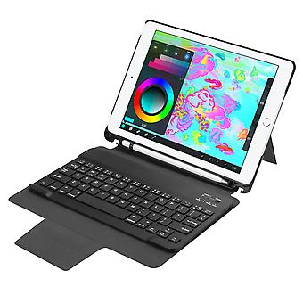 Detachable bluetooth keyboard kickstand case for new ipad 9.7 2017/2018