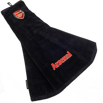 Arsenal FC Tri-Fold Golf Towel