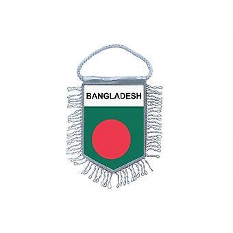 Fanion Mini Drapeau Pays Voiture Decoration  Bangladesh