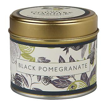Fragrant Orchard Candle in a Tin - Black Pomegranate