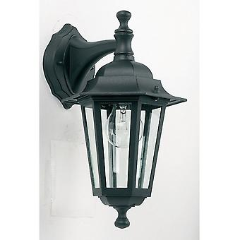 Endon YG-2004 Exterior Wall Lamp In Black