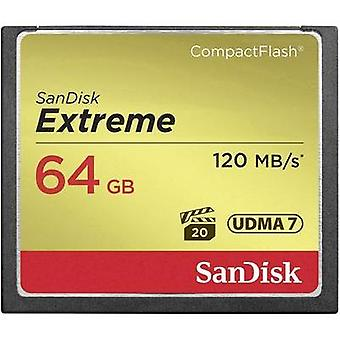 CompactFlash card 64 GB SanDisk Extreme