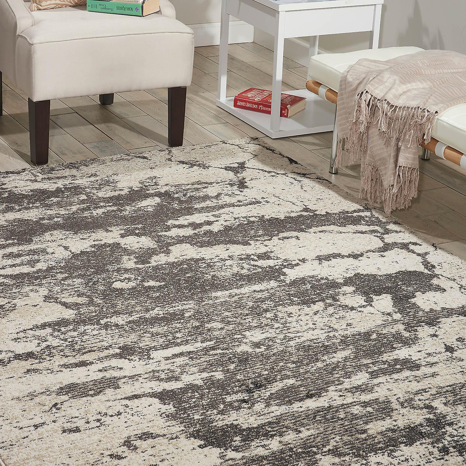 Maxell Rugs Mae07 By Nourison In Ivory And gris