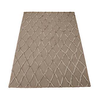 Schichten-Teppiche-Stt05 In Silber