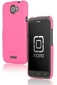 Incipio HT-280 Feather shine Case Cover für HTC One X - pink