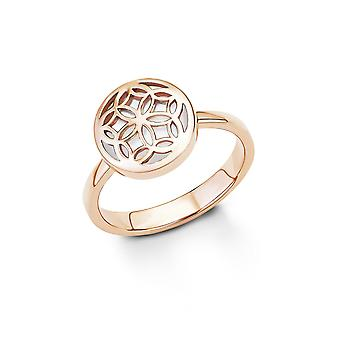 s.Oliver Jewel Damen Ring Silber Perlmutt Rose SO1243