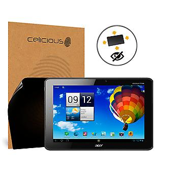 Celicious Privacy Plus Acer Iconia Tab A511 4-Way Visual Black Out Screen Protector