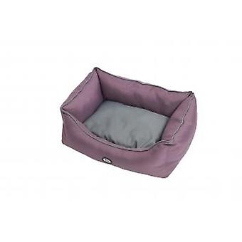 Buster Premium Sofa Bed Black Plum/steel Grey 60x70cm