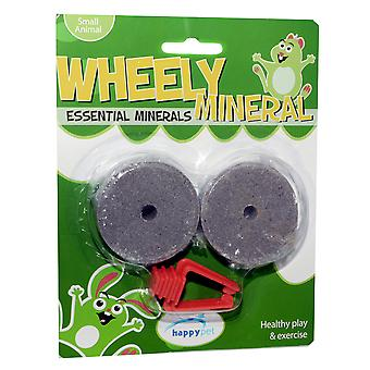 Wheely Mineral Small Animal Lick 2pack