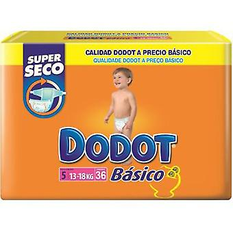 Dodot Basic 13 - 18 Kg. 40 (Jeugd , Nappies and Changers , Nappies)