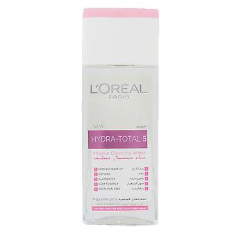L'oreal Hydra-Total 5 Micellar Cleansing Water For Dry & Sensitive Skin 200ml