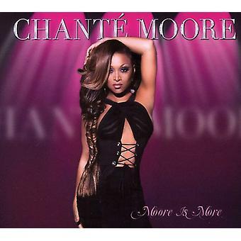Chante Moore - importación de Moore es más [CD] Estados Unidos