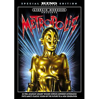 Importazione di metropoli (Giorgio Moroder Version) [DVD] Stati Uniti d'America