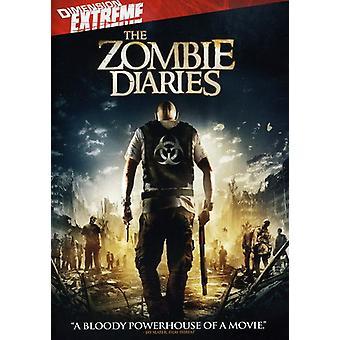 Zombie Diaries [DVD] USA importerer