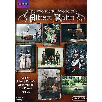 The Wonderful World of Albert Kahn: Archives of the Planet [3 Discs] [DVD] USA import
