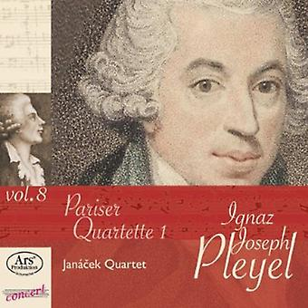 Pleyel / Janacek kvartetten - Pariser Quartette 1 [CD] USA import