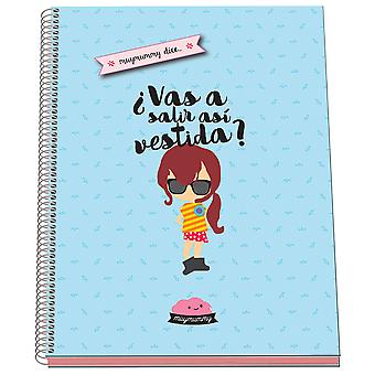 Dohe Frases Azul Bloc Micro A4 Cn 96 Hojas (Toys , School Zone , Notebooks And Folders)