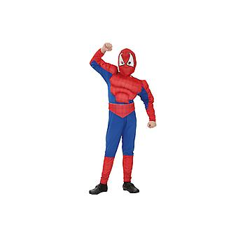 Spiders costume muscle suit spider hero costume for children