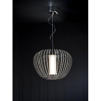 Schuller Cross Clear Oval Ceiling Light Pendant