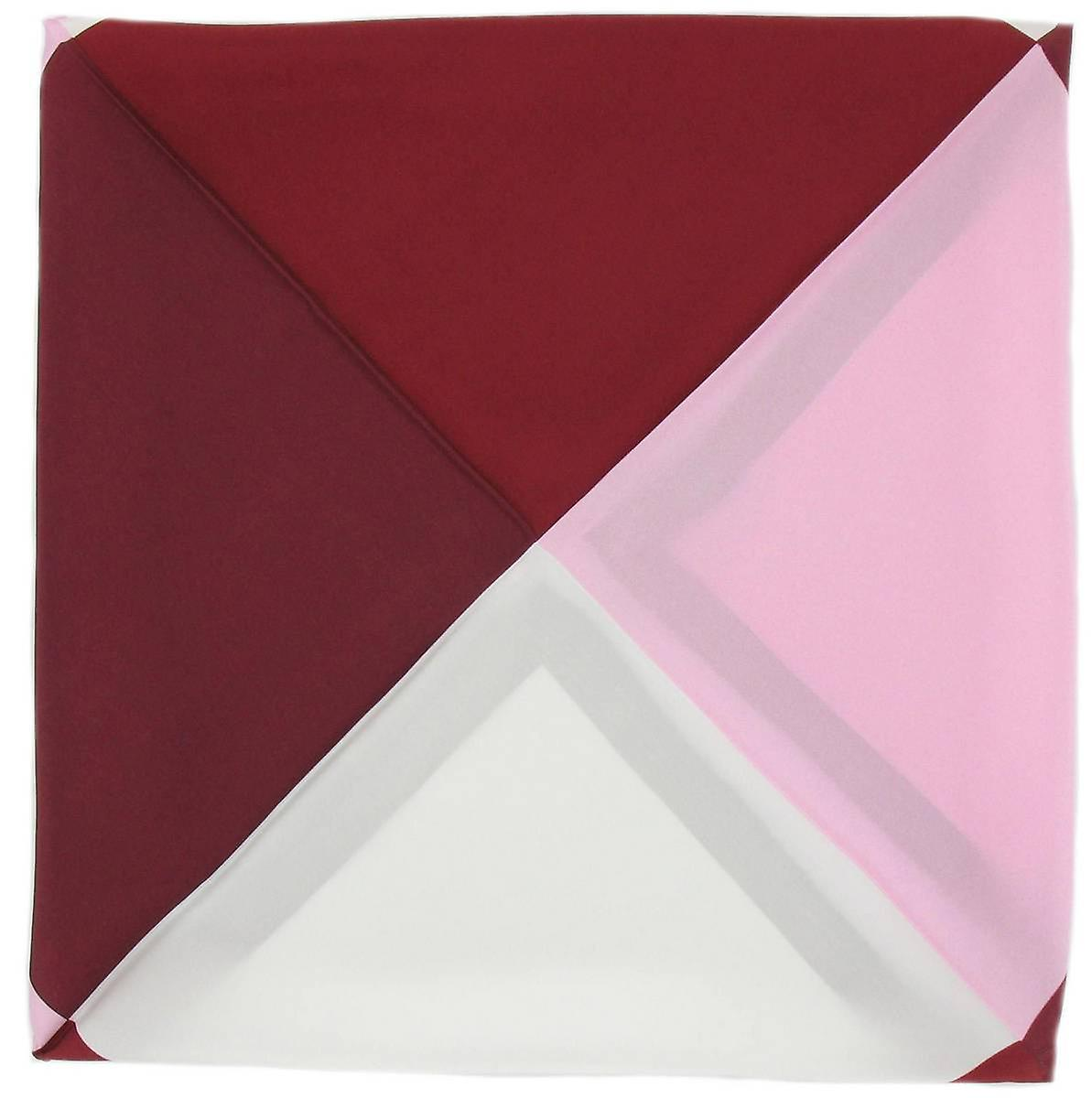 Michelsons of London Four Way Silk Handkerchief - Red