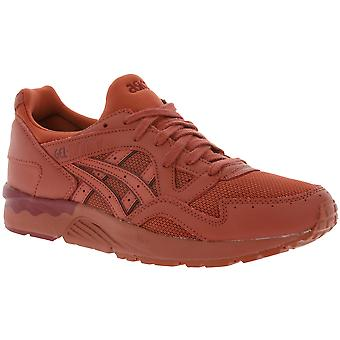 Asics Gel-Lyte V ladies red genuine leather sneaker