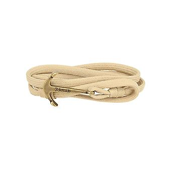 7details Premium Anker Armband für Herren und Damen in Stone Beige Made in Spain