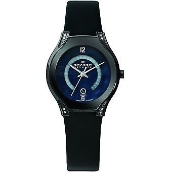 Skagen dames Black Label horloge 886SBLB