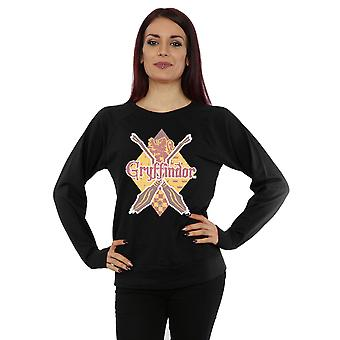 Harry Potter Women's Gryffindor Lozenge Sweatshirt