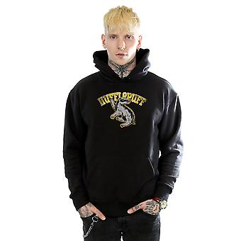 Harry Potter Men's Hufflepuff Sport Emblem Hoodie