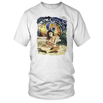 De generatieve principe - Yoga meditatie Boeddha Mens T Shirt