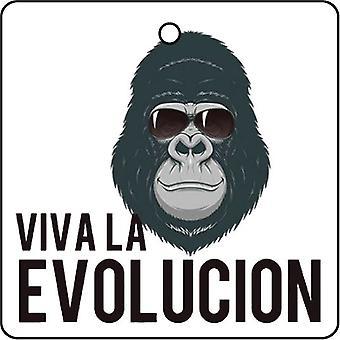 Viva La Evolucion Car Air Freshener