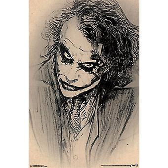 Batman Joker - Sketch Poster Poster Print