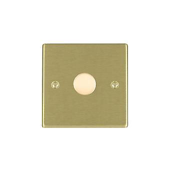 Hamilton Litestat Hartland ottone satinato 1g 300VA 2 vie Dimmer SB