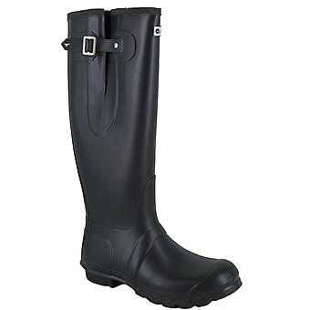 Hi Tec Neoprene Womens Wellington Wellies Pull On Lined Boots