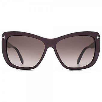 Tom Ford Lindsay Sunglasses In Violet