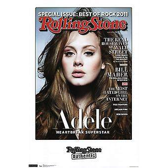 Rolling Stone - Adele 11 Poster Print