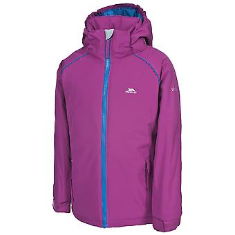 Trespass Girls Moshee Waterproof Windproof Hooded Jacket