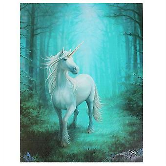 Anne Stokes Forest Unicorn Canvas