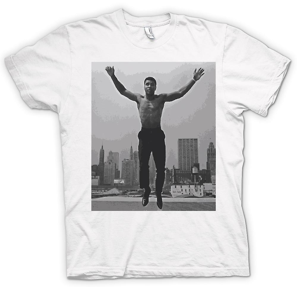 Mens T-shirt - Ali Jumping Shirt Off