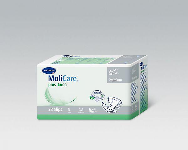 Molicare Softplus | Medium | Unisex All-in-1 Incontinence Pads | Pack Of 28