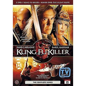 Kung fu assassino serie completa (set di 3 dischi) (DVD) (BRAND NEW)