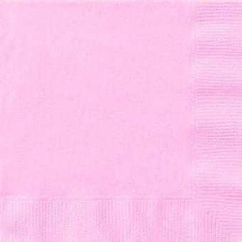 Pastell rosa servietter